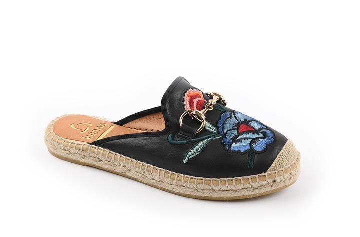 Kanna - dames - slippers - Ref. 253-5857