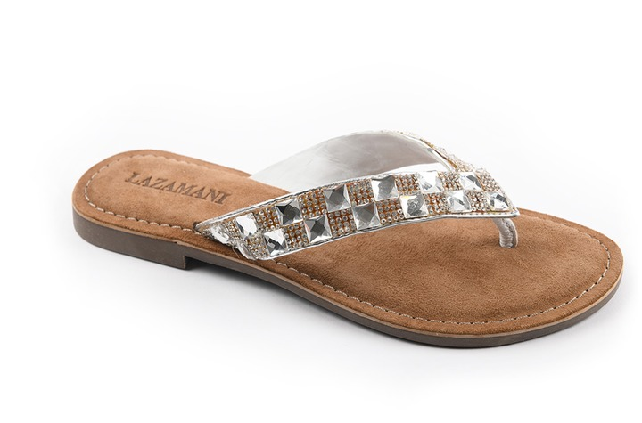 Lazamani - dames - slippers - Ref. 221-5825