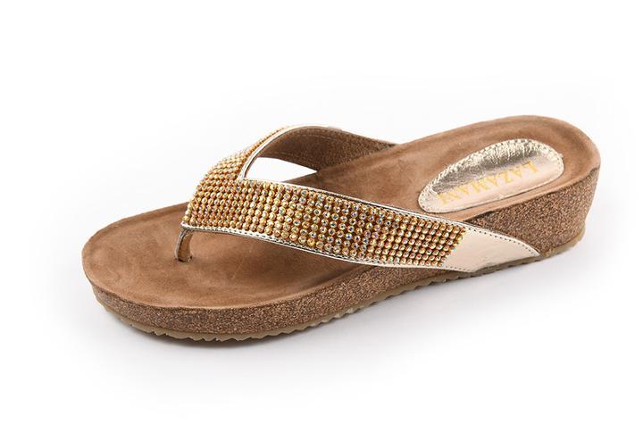 Lazamani - dames - slippers - Ref. 238-5842