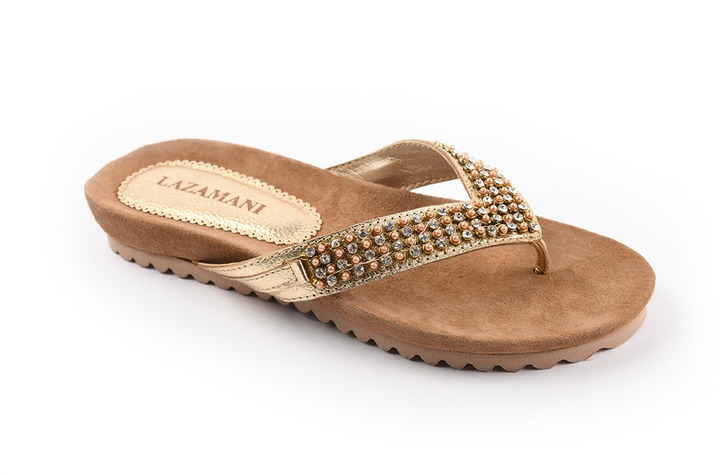 Lazamani - dames - slippers - Ref. 224-5828