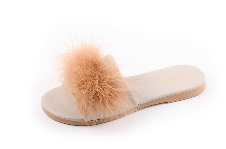 Lazamani - dames - slippers - Ref. 225-5829